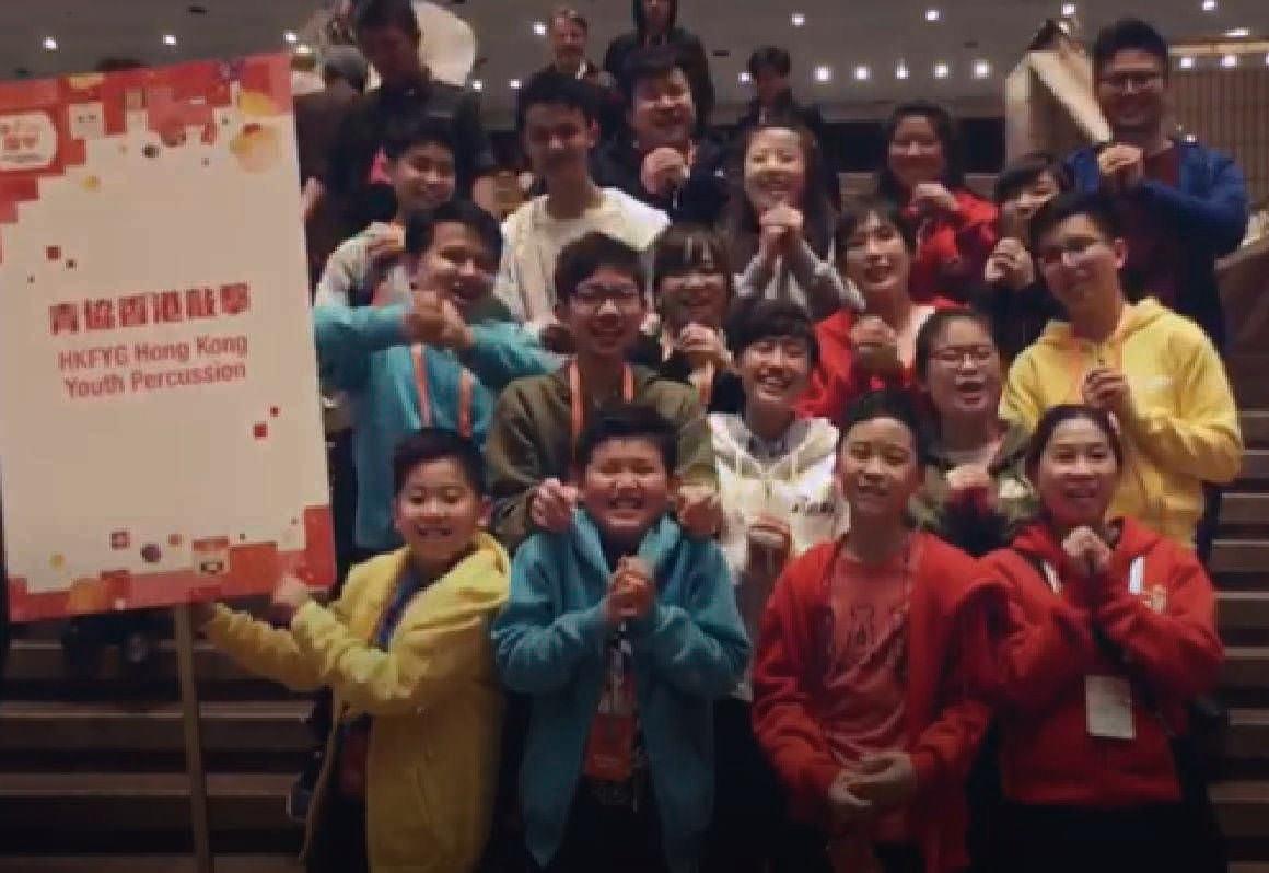 外間邀請:香港新春節慶 香港敲擊