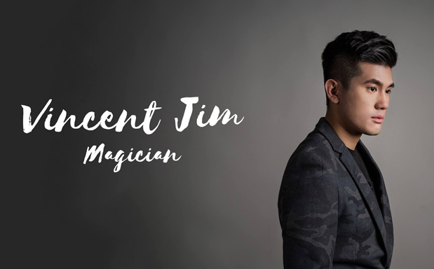 Magician Vincent Jim